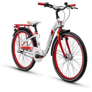 s'cool chiX 24 3-S alloy White/Red bei fahrrad.de Online