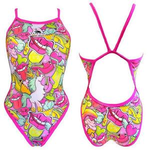 Turbo Scandal Swimsuit Damen pink pink