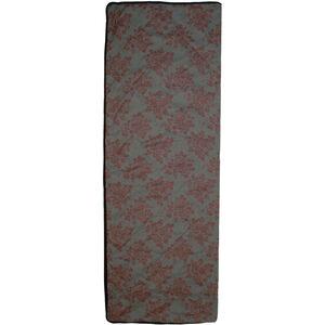 Grüezi-Bag WellhealthBlanket Wool Deluxe Sleeping Bag grey melange/berry grey melange/berry