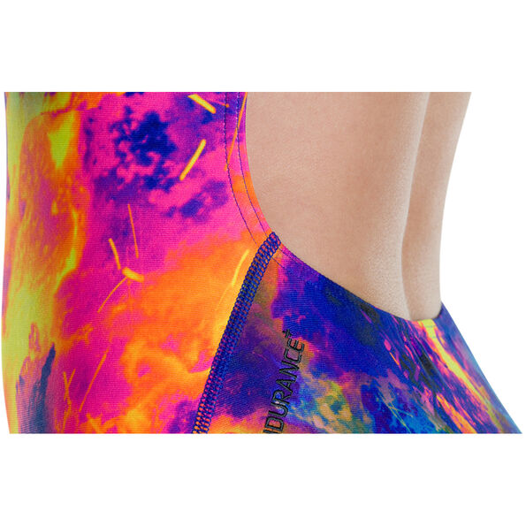 speedo FireSplash Placement Digital Powerback Swimsuit