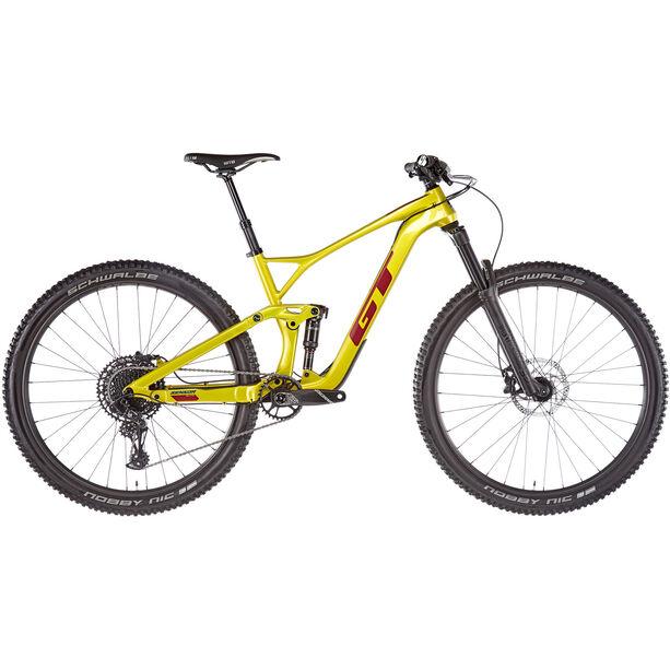 """GT Bicycles Sensor Carbon Elite 29"""" 2. Wahl gloss limegold"""
