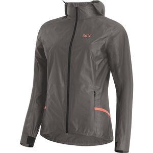 GORE WEAR R7 Gore-Tex Shakedry Hooded Jacket Damen lava grey lava grey