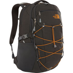 The North Face Borealis Backpack asphalt grey dark heather/citrin yellow asphalt grey dark heather/citrin yellow
