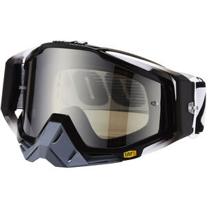 100% Racecraft Anti Fog Mirror Goggles abyss black abyss black