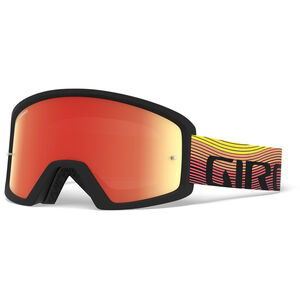 Giro Blok MTB Goggles orange/black heatwave, amber/clear orange/black heatwave, amber/clear