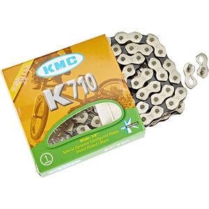 KMC K-710 Kette silver/black bei fahrrad.de Online