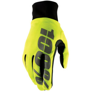 100% Hydromatic Waterproof Gloves neon yellow neon yellow