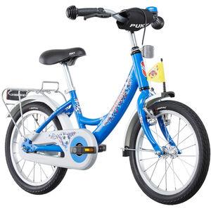 "Puky ZL 16-1 Alu Fahrrad 16"" Kinder fußball blau fußball blau"