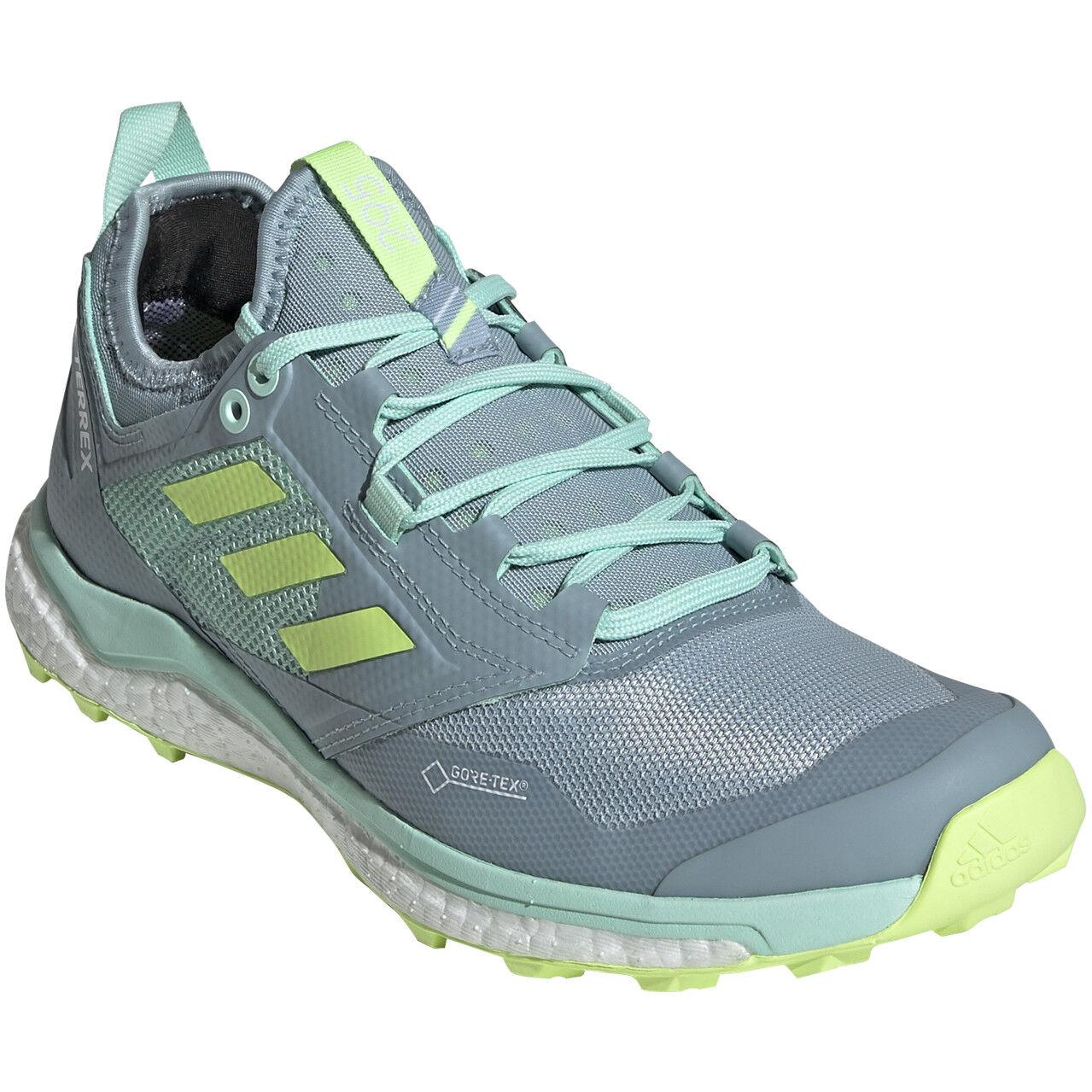 Damen Terrex Agravic XT GTX Schuhe ash grey UK 4