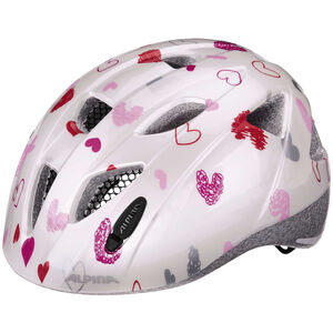 Alpina Ximo Helmet Juniors white hearts bei fahrrad.de Online
