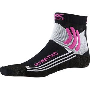 X-Socks Sky Run Two Socks Damen black melange black melange