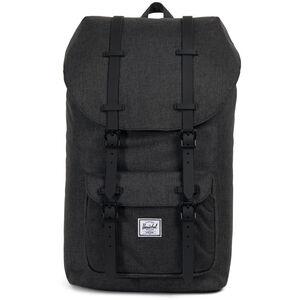 Herschel Little America Backpack Black Crosshatch/Black