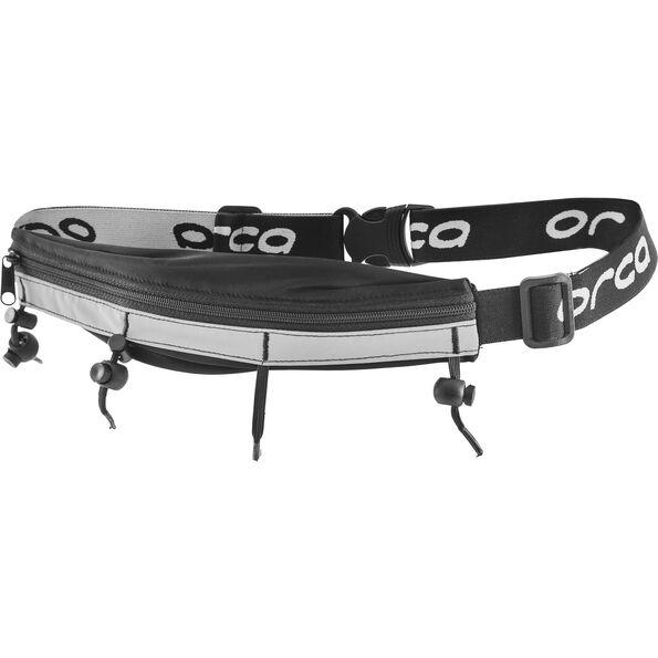 ORCA Race Belt w/ Zip Pocket black