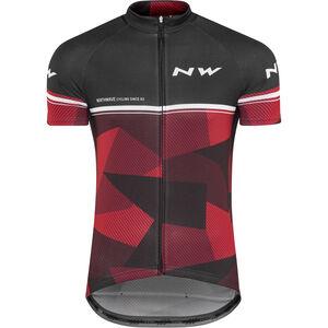 Northwave Origin SS Jersey Herren black/red black/red