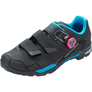 Northwave Outcross 2 Plus Shoes Damen black/aqua black/aqua