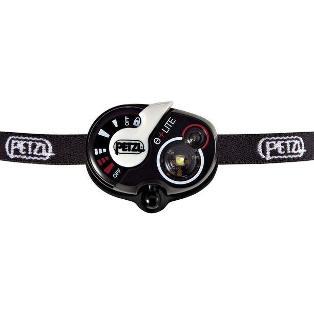 Petzl e+Lite Stirnlampe weiß/schwarz