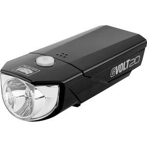 CatEye GVOLT20 HL-EL350G Frontlicht mit StVZO schwarz schwarz