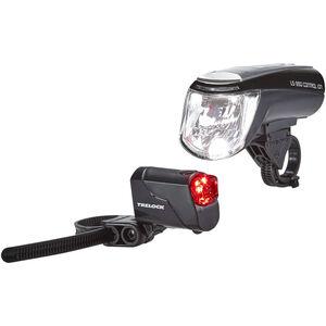Trelock LS 950 CONTROL ION / LS 720 Beleuchtungsset schwarz schwarz