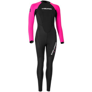 Head Expl**** 3.2.2 Wetsuit Damen black/pink black/pink