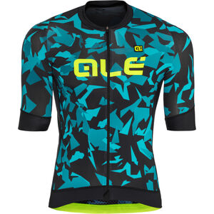 Alé Cycling Graphics PRR Glass SS Jersey Herren black petr-turquise black petr-turquise