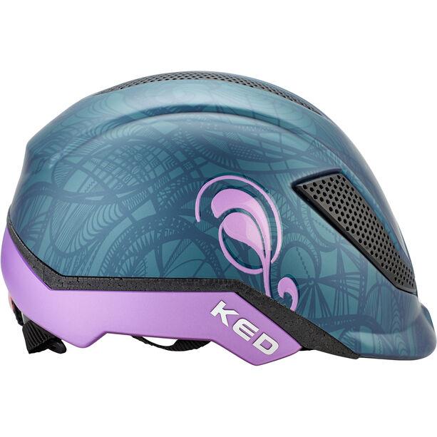 KED Pina Helmet Kinder nightblue matt