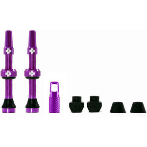 Muc-Off MTB & Road Tubeless Valve Kit 60mm purple purple