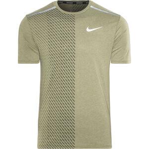 Nike Breathe Tailwind SS Running Top Men medium olive/sequoia bei fahrrad.de Online