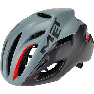 MET Rivale Helm gray/black/red gray/black/red
