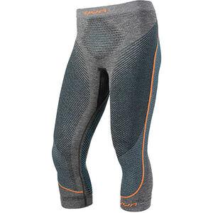 UYN Ambityon Melange UW Medium Pants Herren black melange/atlantic/orange shiny black melange/atlantic/orange shiny