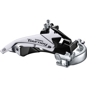 Shimano Tourney FD-TY500 Umwerfer Schelle Top Swing 63-66° 6/7-fach