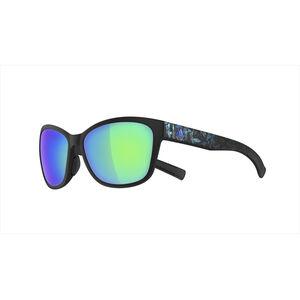 adidas Excalate Glasses black matt/floral blue black matt/floral blue