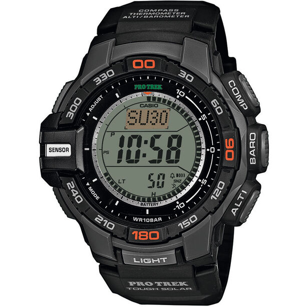 CASIO PRO TREK PRG-270-1ER Watch Men black/black/grey