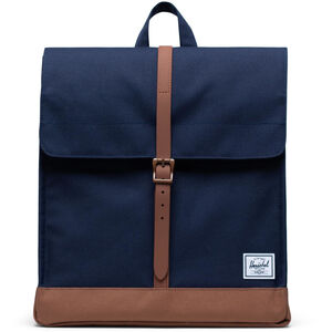 Herschel City Mid-Volume Rucksack 14l peacoat/saddle brown peacoat/saddle brown