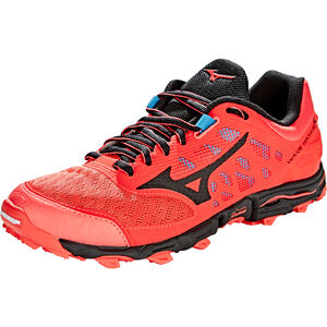 Mizuno Wave Hayate 5 Shoes Women Hot Coral/Black bei fahrrad.de Online