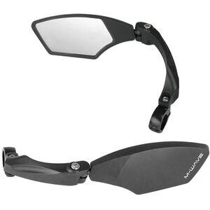 M-Wave Spy Space Fahrradspiegel schwarz schwarz