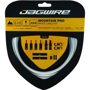 Jagwire Mountain Pro Bremszugset weiß weiß