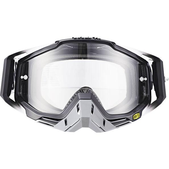 100% Racecraft Anti Fog Clear Goggles