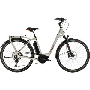 Cube Town Sport Hybrid EXC 500 Easy Entry grey/red grey/red