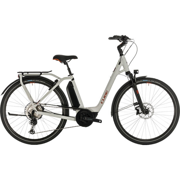 Cube Town Sport Hybrid EXC 500 Easy Entry grey/red