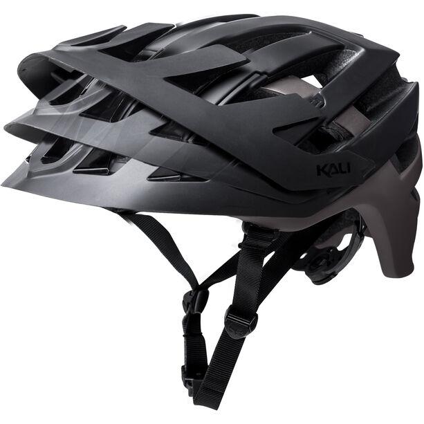 Kali Interceptor Helm matt schwarz/grau