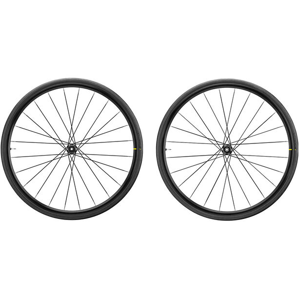 Mavic Aksium Elite EVO UST Laufradsatz CL Disc Shimano/SRAM M-28