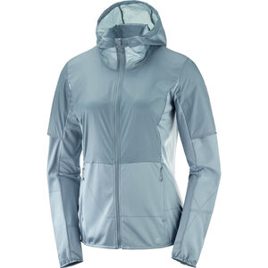 Salomon Elevate Aero FZ Midlayer Damen smk.-blue smk.-blue
