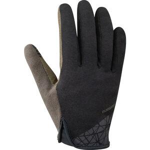 Shimano Transit Long Gloves Herren black black