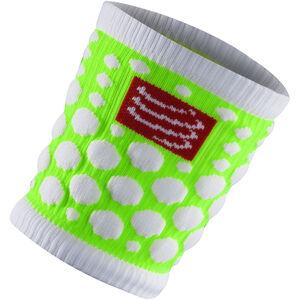 Compressport 3D Dots Sweatbands fluo green fluo green
