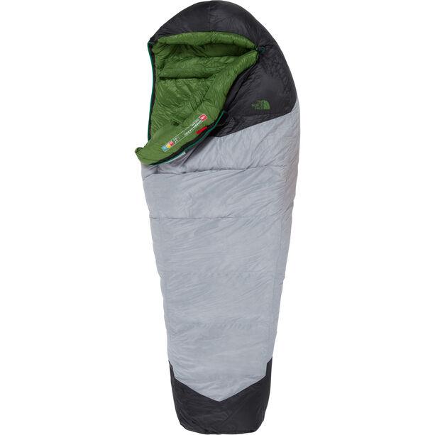 The North Face Green Kazoo Sleeping Bag Long high rise grey/adder green