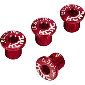 KCNC MTB SPB004 Kettenblattschrauben 4 Stück rot rot