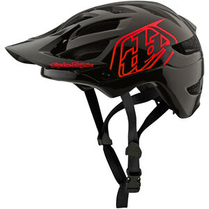 Troy Lee Designs A1 Drone Helmet Kinder black/red black/red