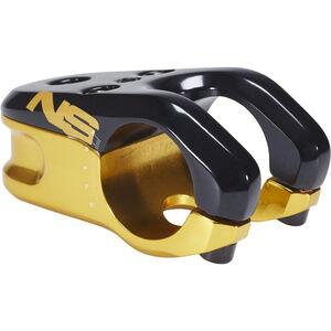 NS Bikes Magneto Vorbau Ø 31,8 mm schwarz/gold schwarz/gold