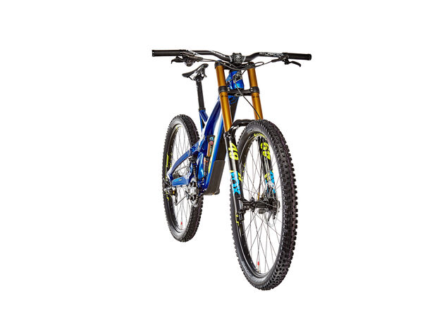 GT Bicycles Fury Team gloss metallic blue/yellow/cyan