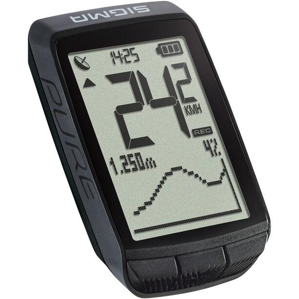 SIGMA SPORT Pure GPS Computer schwarz